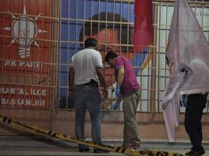 İstanbul'da AKP binasına bombalı saldırı