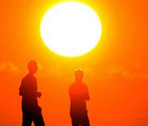 Antalya'da 'en sıcak gün'