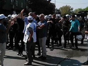 Ankara'da KESK eylemine müdahale