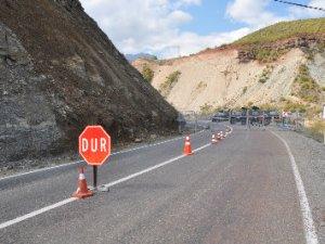Tunceli- Erzincan yolu kapatıldı