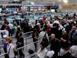 6.4 milyon transit yolcu su bile içmedi