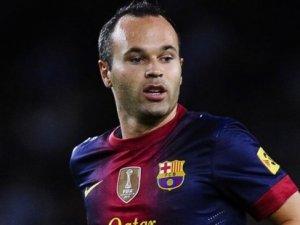 Barcelona'nın yeni kaptanı: Iniesta