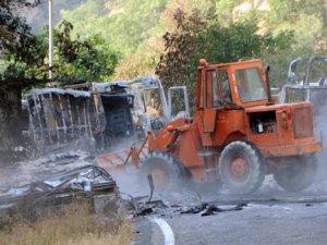 Tunceli-Erzincan karayolu yeniden kapatıldı!