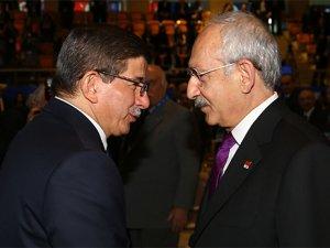 Ahmet Davutoğlu ve Kemal Kılıçdaroğlu pazartesi günü görüşecek