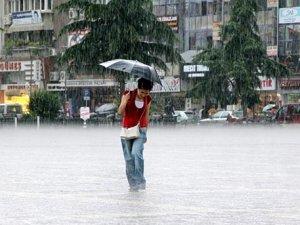 Meteoroloji'dan 18 il için sağanak yağış uyarısı