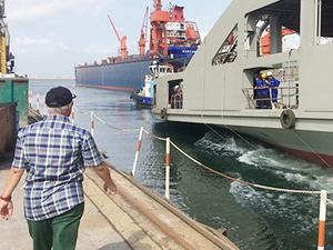 Çeksan Tersanesi M/F AHMET PİRİŞTİNA 'yı denize indirdi