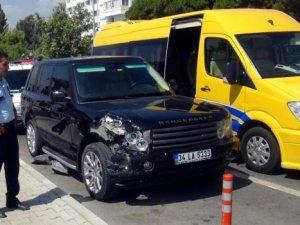 Kaza yapan araçta sürücü bilmecesi