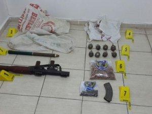 Şırnak'ta silah ve mühimmat bulundu