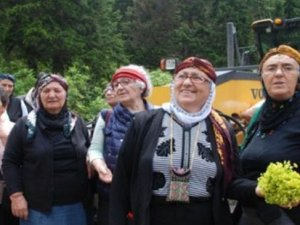 Karadenizliler Samistal Yaylası'nda buluştu: Yeşil Yol'a isyan etti!