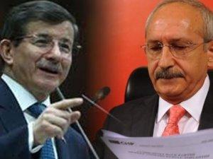Kılıçdaroğlu-Davutoğlu görüşmesi başladı