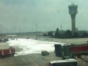 Atatürk Havalimanı'nda felaketten dönüldü