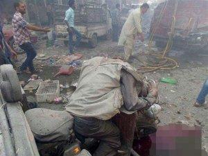 Suriye'de pazar yerine saldırı: 30 sivil öldü