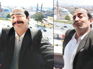 Tüpçü Fikret'ten Sivas selfie'si!