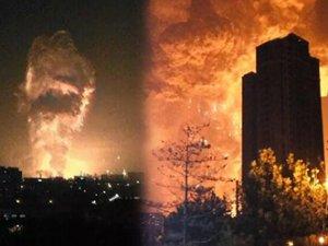 Çin'deki patlamada ölü sayısı 112'ye yükseldi