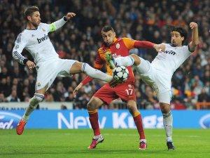 Galatasaray'ın Real Madrid kadrosu