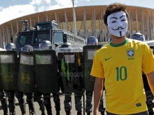 Brezilya'da halk protestosu büyüyor