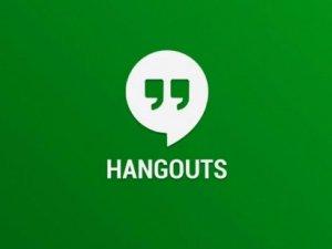 Google Hangouts'tan web sürümü!
