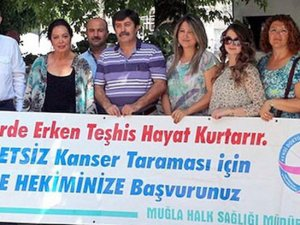 Türkan Şoray'dan kansere destek