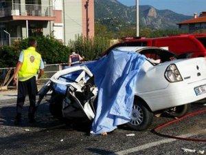 Antalya'da korkunç kaza: 5 kişi öldü