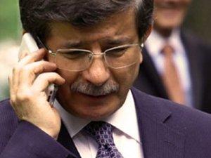 Davutoğlu'ndan Murat Sancak'a geçmiş olsun telefonu