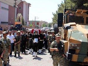 Şehit cenazesinde Erdoğan'a protesto