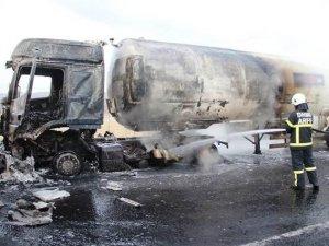 Karakola gaz yüklü tankerle saldırı girişimi