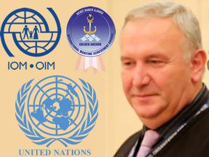 Uluslararası Göç Örgütü Ortadoğu Direktörü Vladimer Lado Gvilava, Altın Çıpa Töreni'ne katılıyor