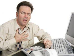 Uzun çalışmak kalp krizi nedeni