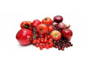 Kırmızı besinlerin faydaları
