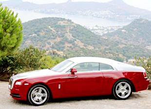 Rolls Royce Bodrum'da geziyor