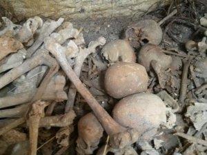 Kütahya'da toplu mezar bulundu