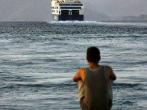 """""""Suriyeli mülteci, Türkiye'den Yunan adalarına yüzerek geçti"""""""