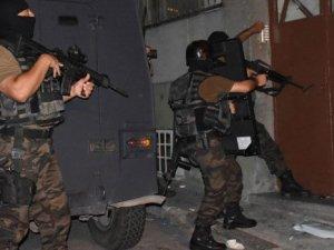 5 İlçede 400 polisli narkotik operasyonu