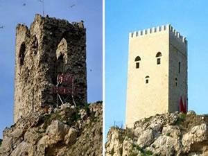 Şile'de restore edilen kale, 'Sünger Bob'a benzetildi!