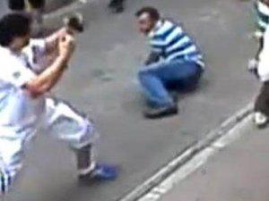 Aksaray'da esnafla kavga eden İrlandalı turistin kimliği belli oldu