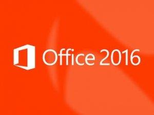 Office 2016'da geliyor