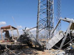 Verici istasyonlarına bombalı saldırı