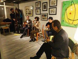 Suriyeli mülteci sanatçılardan İstanbul'da bir sanat alanı