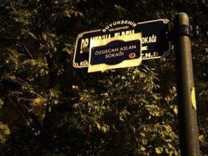 'Özgecan Aslan Sokağı'na 'vandallık' yorumu