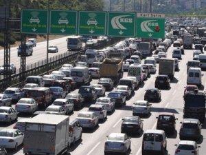 İstanbul'da trafik durdu