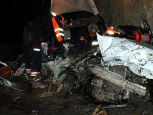 Feci kaza: 5 ölü, 2 yaralı!