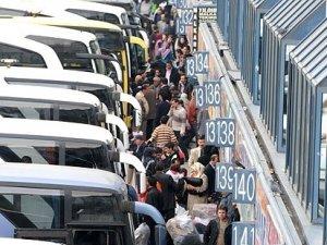 Otobüs firmaları İstanbul Otogarı'nda eylem hazırlığında