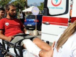 Trafikte pompalı dehşeti: 3 yaralı