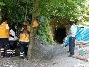 Kaçak kömür ocağında 2 işçi mahsur kaldı