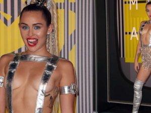 Miley Cyrus'a yine eleştiri yağdı