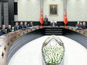 İlklerin MGK'sı Cumhurbaşkanı Erdoğan'ın başkanlığında başladı