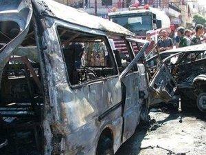 Lazkiye'de bombalı araç saldırısı: En az 10 ölü
