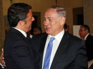 İtalyan restoranında yemek yiyen Netanyahu'ya tepki