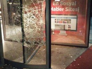 Hürriyet Gazetesi'ne saldırı!