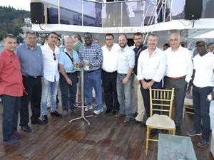 Altın Çıpa konukları İstanbul Boğazı'na hayran kaldı